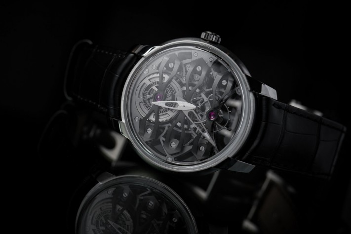 Haute Complication: Girard Perregaux Neo-Tourbillon Skeleton with Three Bridges