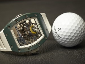 How Sport Has Influenced Watch Designs: RIchard Mille RM 038 Bubba Watson