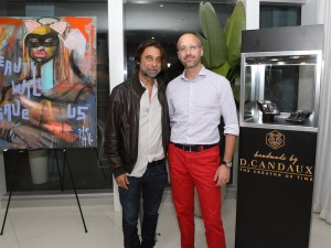 Haute Living and D. Candaux Present Jordi Molla Collectors Dinner At Mondrian Hotel With David Rosen Galleries