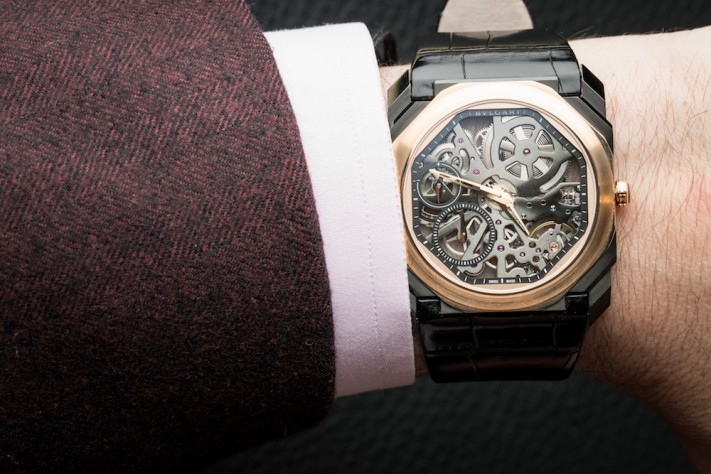Signing Off On 2018 With The Bvlgari Octo Finissimo Skeleton