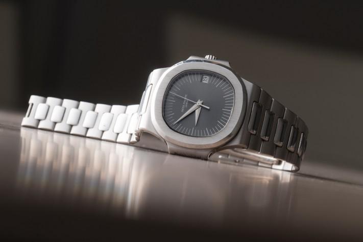 Hands-On With A Unique Platinum Patek Philippe Nautilus Ref. 3800/1