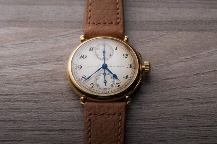 Throwback Thursday: Patek Philippe Officer Single-Button Chronograph