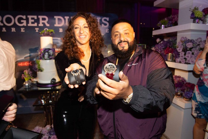 Nicole Tuck and DJ Khaled