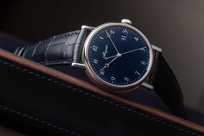 Breguet Classique 5177; The Luscious Seduction Of Blue Enamel