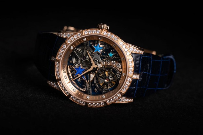 Stargazing With The Roger Dubuis Excalibur Shooting Star