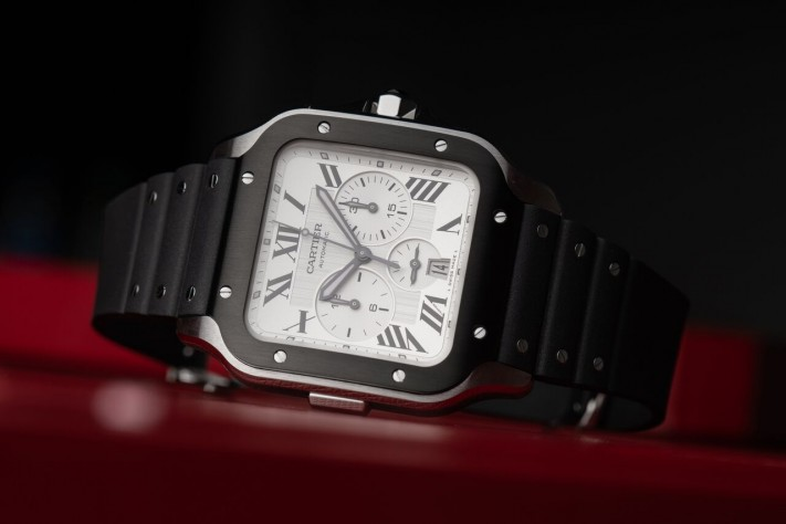 The New Santos de Cartier Is Not Your Average Chronograph