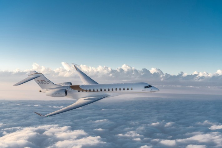 Bombardier's Luxurious Global 7500 Jet