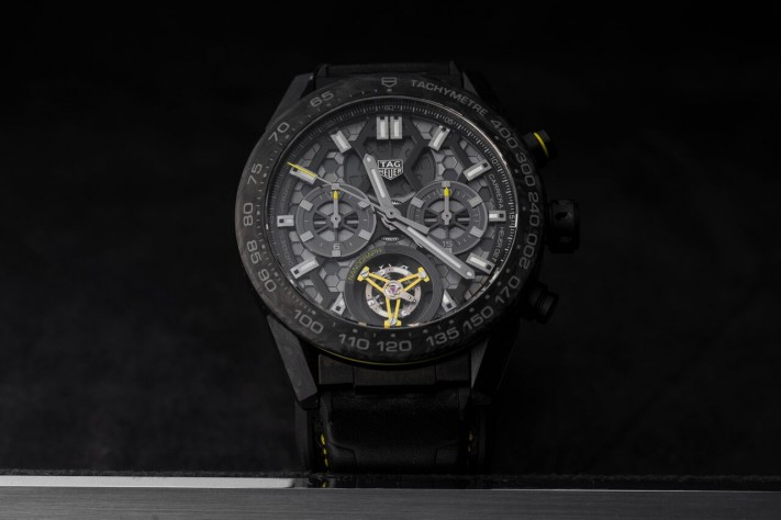 TAG Heuer Carrera Calibre Heuer 02T Tourbillon Nanograph: With The Precision Of Carbon