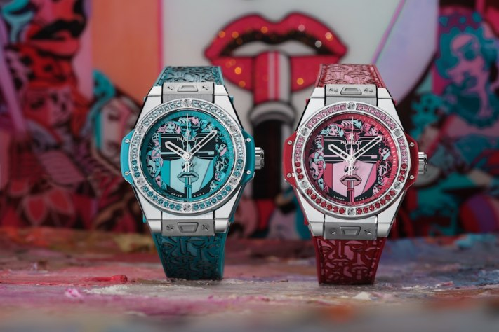 Hublot Collaborates With Celebrated Artist Marc Ferrero For Big Bang One Click Marc Ferrero Women's Timepiece