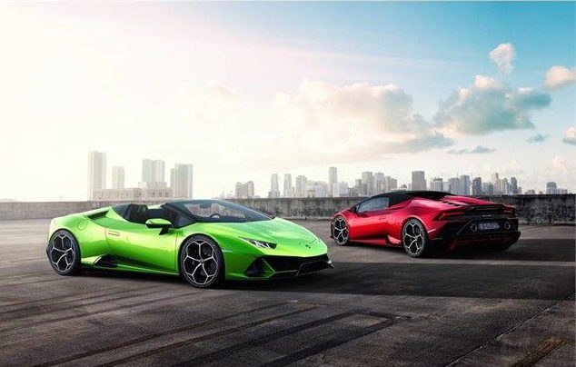 Lamborghini Unveils Huracán EVO Spyder, Combines Open-Air Driving with Evolutionary Technology
