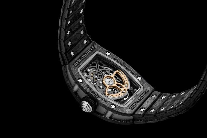 Richard Mille's Launches Ultralight Carbon TPT Bracelet