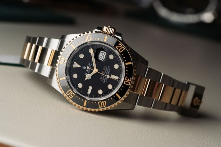 A Two-Tone Rolex Sea-Dweller, Because, Why Not?