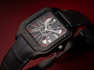 "Watch of the Week: Santos de Cartier Skeleton ""Noctambule"""
