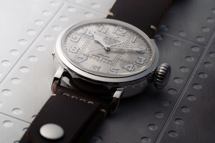 Watch of the Week: Zenith Pilot Type 20 Silver