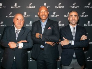 Hublot Celebrates Launch Of New Limited-Edition Classic Fusion Watch Honoring Legendary Yankee Mariano Rivera At American Cut NY