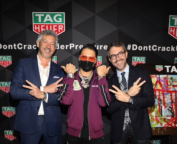 TAG Heuer Celebrates Grand Opening Of New Aventura Mall Boutique With Alec Monopoly
