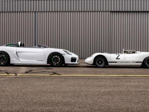 Porsche Unveils One-Of-A-Kind Boxster Bergspyder