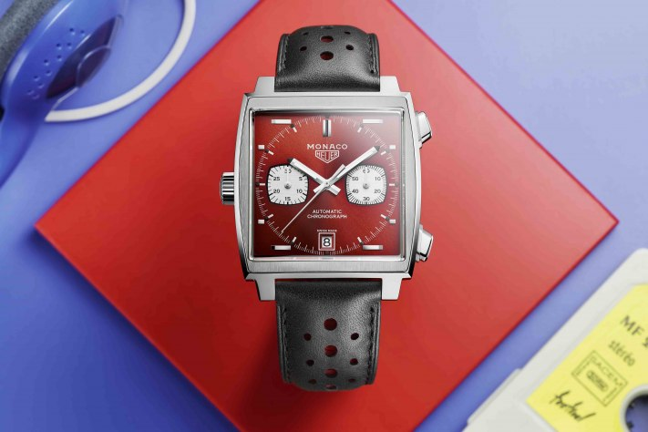 TAG Heuer Launches Red Hot Monaco