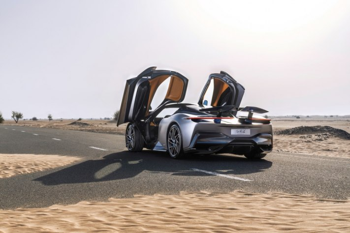 Geneva International Motor Show Reveals New Pininfarina Battista