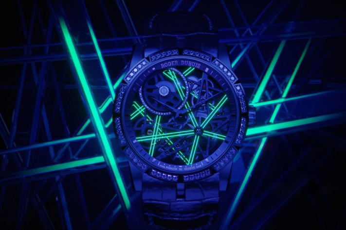 Roger Dubuis Lights Up The Dark With Excalibur Blacklight Trilogy