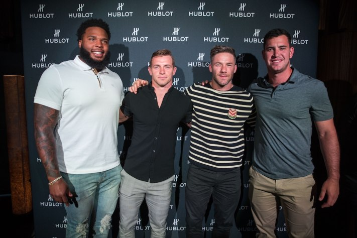 Hublot Collectors Dinner With Haute Living Cover Star Julian Edelman
