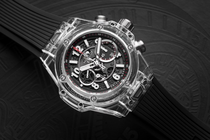 Hublot Big Bang Unico Magic Sapphire; The Clear Advantage