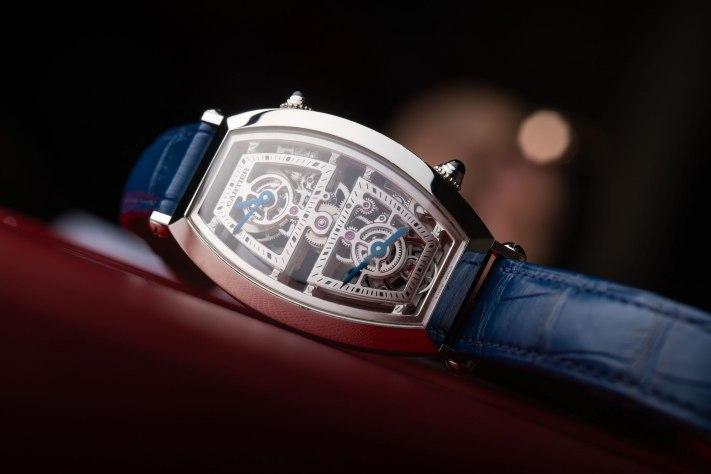 Cartier Privé Tonneau Skeleton Dual Time: The Ultimate Time-Traveller