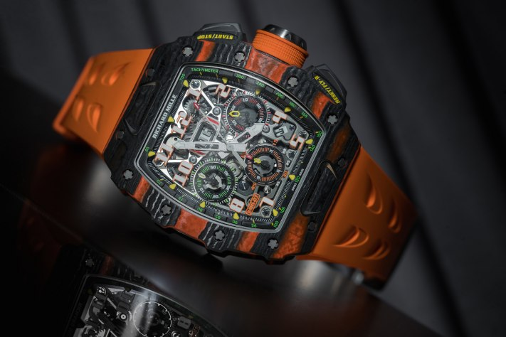 Auto-Inspired Watches: Richard Mille RM 11-03 McLaren