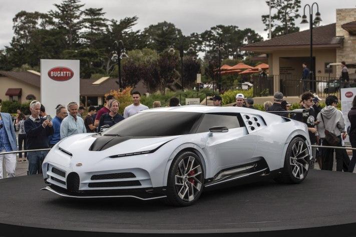 """Bugatti Unveils The """"Centodieci"""""""