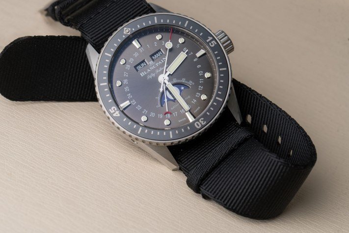 Diving Differently With The Blancpain Fifty Fathoms