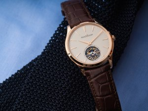 Ultra-Thin watches: Jaeger-LeCoultre Master Ultra Thin Tourbillon