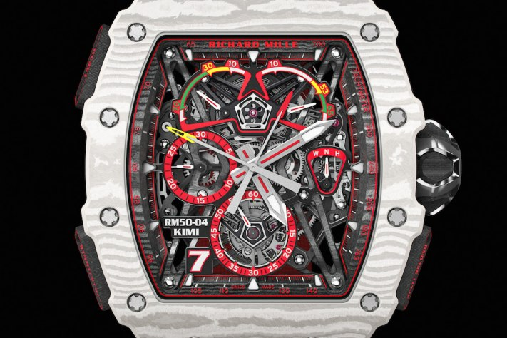 Richard Mille Welcomes Kimi Räikkönen With New RM 50-04 Tourbillon Split-Seconds Chronograph