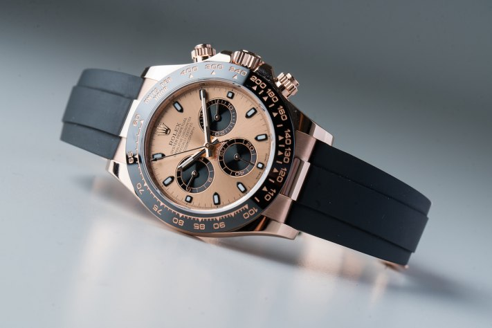 Proprietary Gold Alloys from Top Watchmakers: Rolex Everose