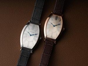 Tonneau-Shaped Watches: Cartier Prive Tonneau