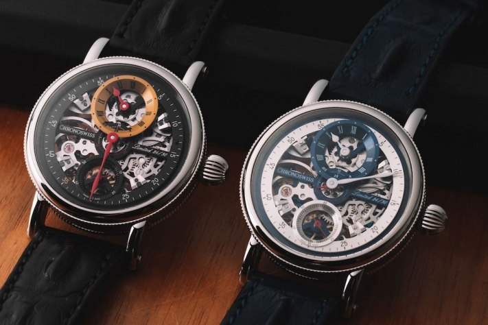 Less Is More With The Chronoswiss Flying Grand Regulator Skeleton