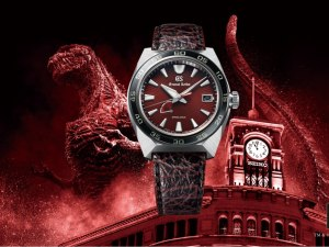 Grand Seiko Launches 'Grand Godzilla' To Mark The 65th Birthday Of The King Of Monsters