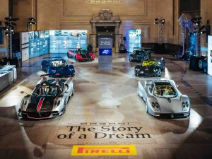 Here's Why There's $27M Worth Of Pagani Parked In Grand Central Station
