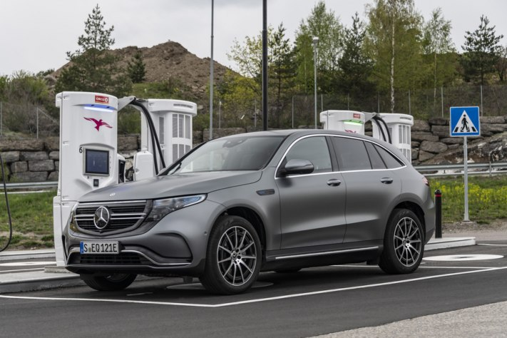 Electric Mercedes EQC 1