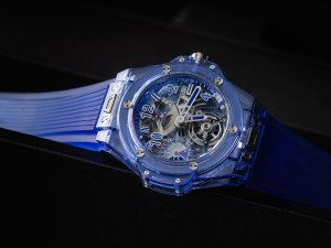 Tourbillon Watches: Hublot Big Bang Tourbillon Power Reserve 5 Days Blue Sapphire