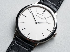 A. Lange & Söhne Saxonia Thin And The Purity Of Design