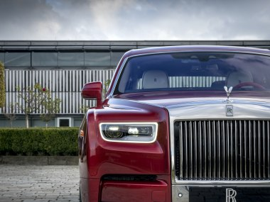 Rolls-Royce Reveals Red Phantom Commission With Artist Mickalene Thomas To Fight AIDS