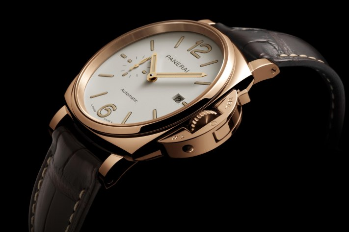 Panerai Adds A Gold Touch To Its Luminor Due Family