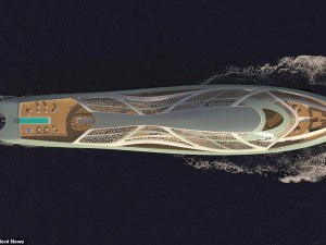 Meet The James Bond Superyacht Concept That Can Disappear