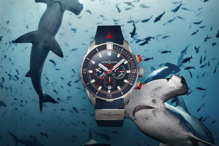 Hammerhead Goes Chronograph; Ulysse Nardin Launches Three Exciting New Divers