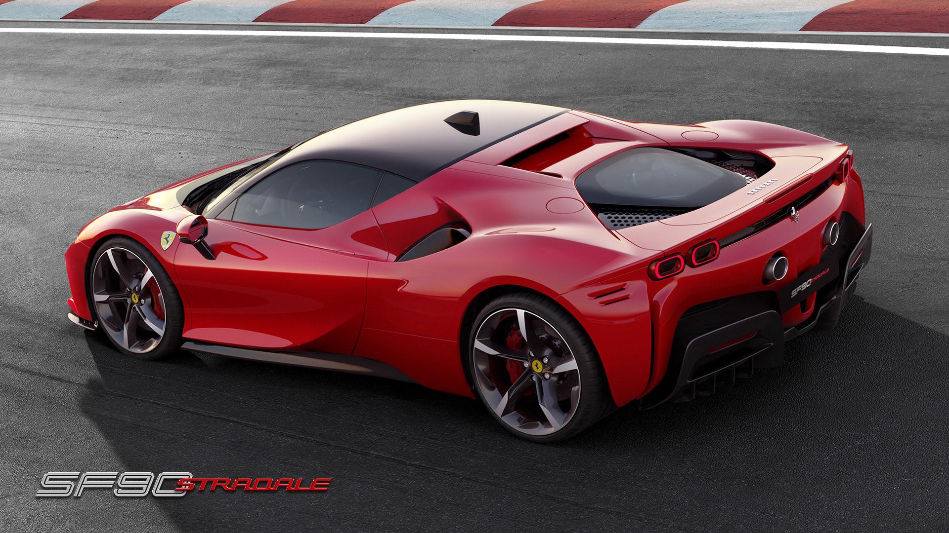 The New Ferrari Sf90 Stradale Uses Phev Design