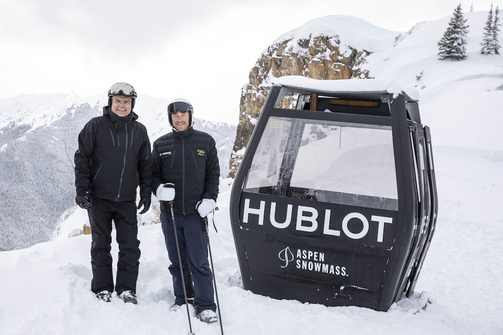 Hublot Opens Aspen Boutique, Debuts Spirit Of Big Bang Special Edition Rockies With Bode Miller