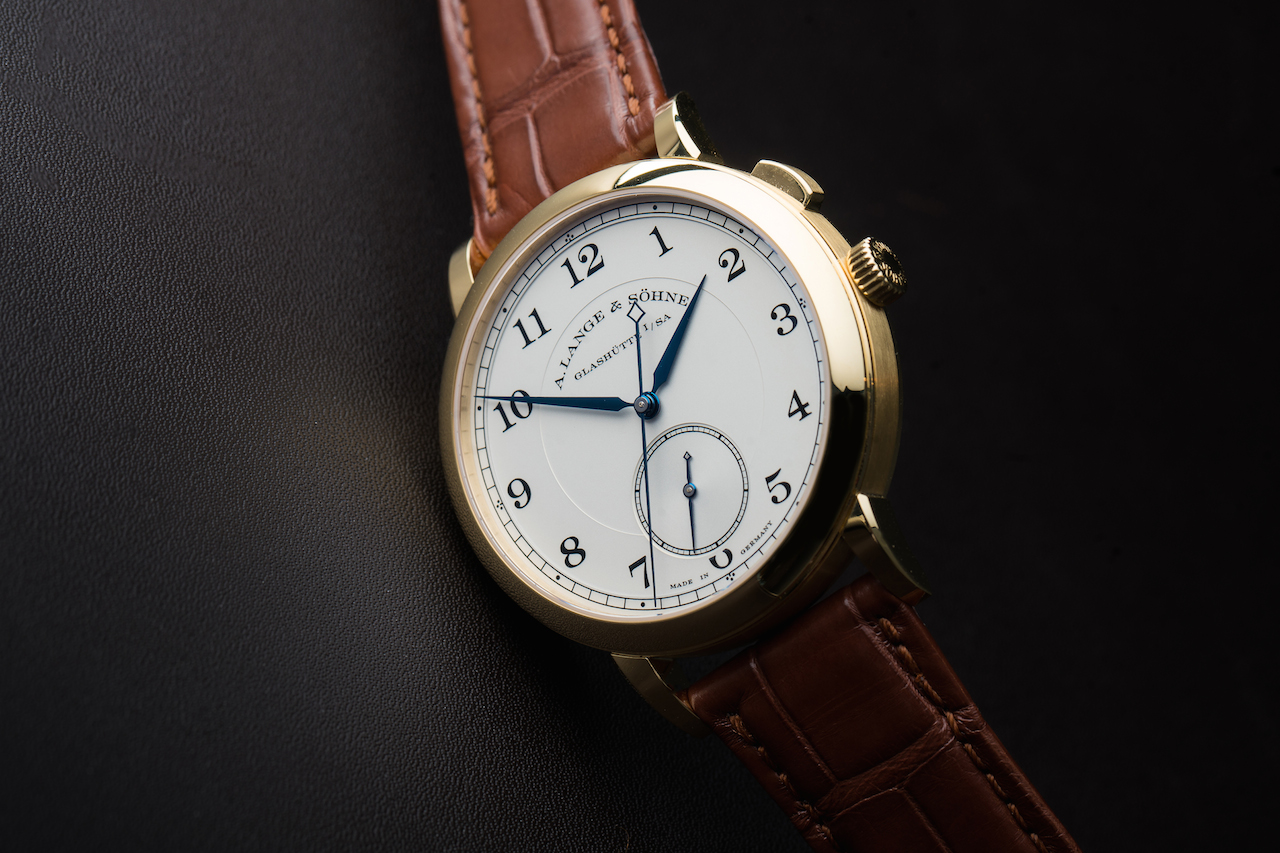 Yellow Gold Watches: A. Lange & Söhne 1815 Homage To Walter Lange
