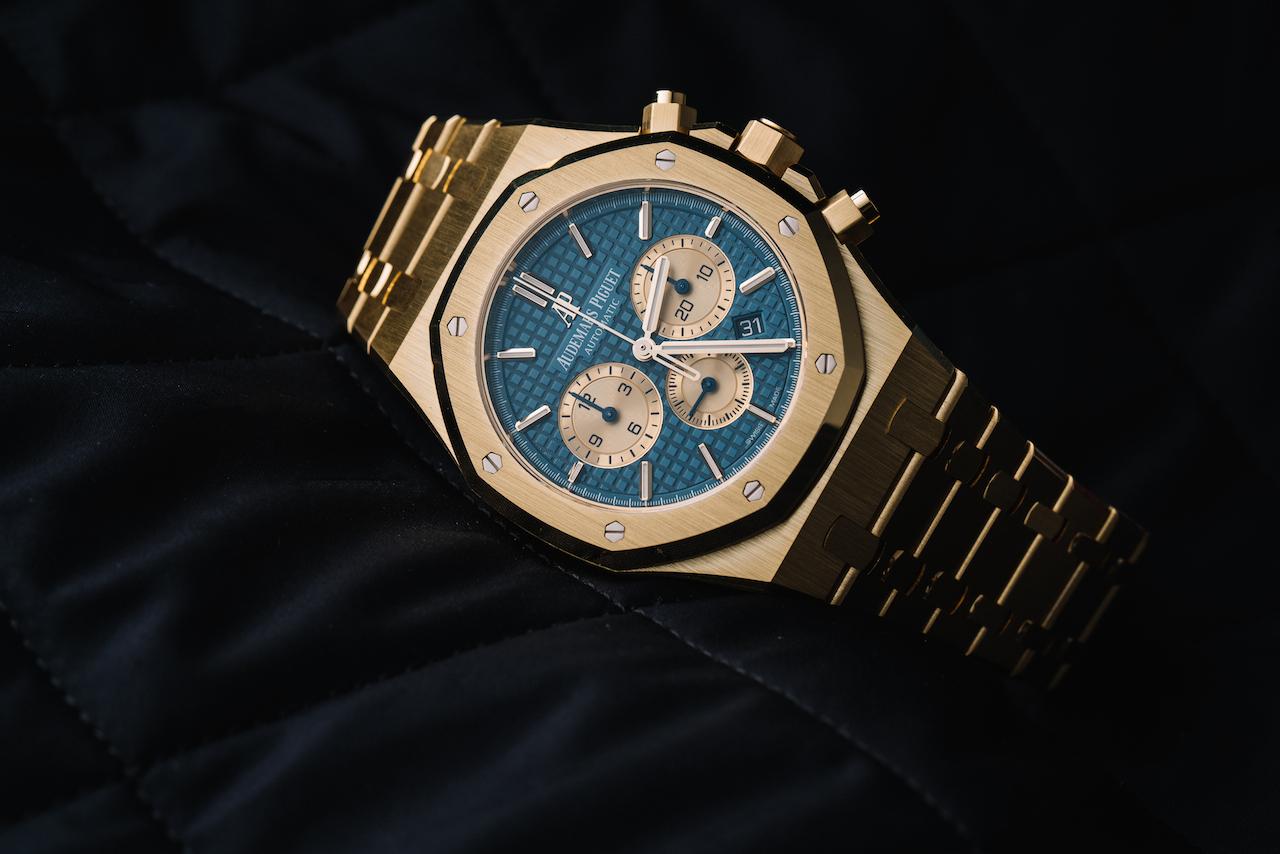 Yellow Gold Watches: Audemars Piguet Royal Oak Chronograph