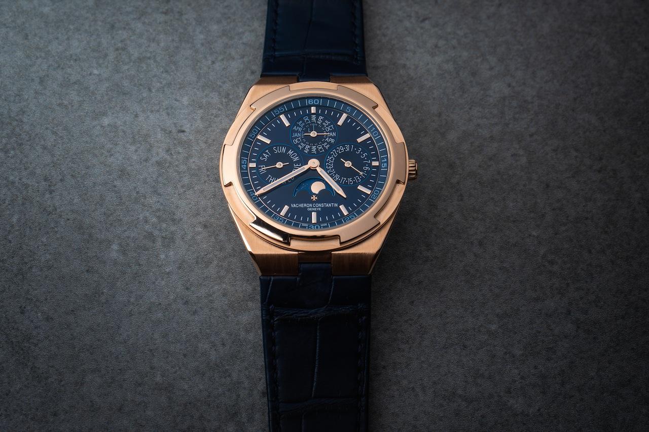 Blue Watches: Vacheron Constantin Overseas Perpetual Calendar Ultra-Thin
