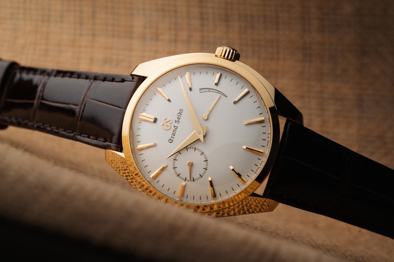 Yellow gold Watches: Grand Seiko Elegance